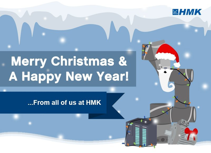Merry Christmas & A Happy New Year from HMK